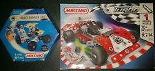 Complete Meccano Turbo Buggy 3353A Set + M&S Maxi Digger Set