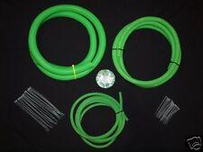 Skoda Bright Green Split Conduit Engine / Wiring Dress Up Kit  Boostjunkies