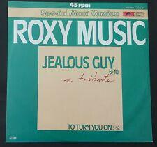 "12"" Roxy Music – Jealous Guy 1981 John Lennon  Polydor – 2141 328 Nm Ps"