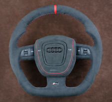 OEM Audi custom steering wheel complete+SRS A3 8p A5 A6 A4 A8 Q7 S RS 8E S-line