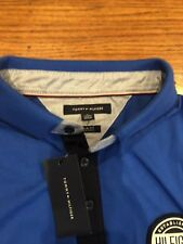Tommy Hilfiger Men's Polo Shirt XL slim fit royal blue