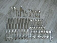 Wallace Grande Baroque Sterling Silver Flatware Service for 16 w/Servers 78 Pcs