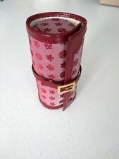 Ladies Travel Jewellery & Watch Roll Storage Case