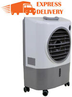 Swamp Cooler Evaporative Air Portable Commercial Fan 1300 CFM 2-Speed 500 sq ft