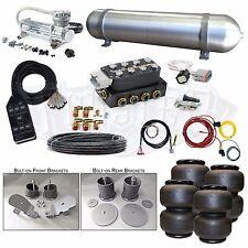 "65-70 Impala Airbag Kit 3/8"" Electric System Accuair VU4 Viair 480C AVS Air Lift"