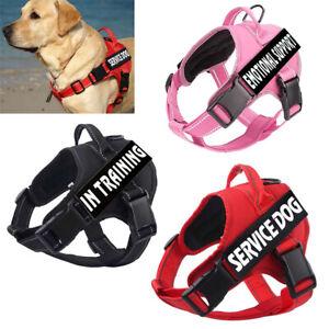 Easy Dog Walking Vest Padded Pet Halters No-Pull Adjust Servise Harness Puppy