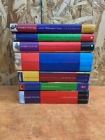 Harry Potter Complete Set Lot of 7 Hardcover & PB Mix Books Bloomsbury Raincoast