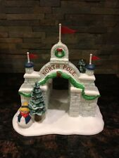 Department 56 Heritage Village Collection North Pole Gate