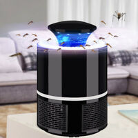 USB Electric Fly Bug Zapper Insect Killer Lamp LED Mosquito Trap Pest Control