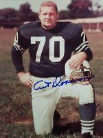 Art Donovan Autographed/Signed Baltimore Colts 8x10 Photo