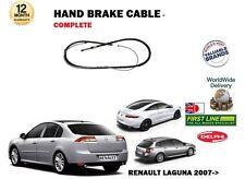 para RENAULT LAGUNA TODOS 2007> NUEVO trasero cable de freno de Mano Izquierdo+