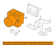 GM OEM ABS Anti-lock Brakes-Pressure Modulator Valve 25879231