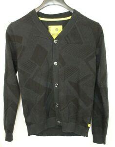 Analog Burton  503.250 MHz Cardigan Sweater - Black - Unisex Small