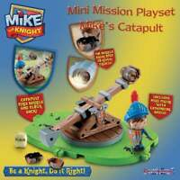 Mike the Knight Mini Mission Playset - Mike's Catapult inc Figure with Shield