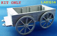 Military Lead Casting LAEQ14 54mm Supply Wagon - Zulu Wars. N.B KIT ONLY