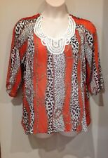 NICE WOMEN'S TOP...SIZE 18...comfy style....NEW With Tags