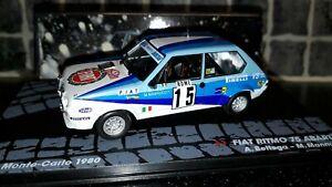 Fiat Ritmo 75 Abarth Grp 2 Attilio Bettega Monte Carlo Rally 80 1/43rd Ixo WRC