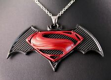 DC Batman Vs Superman Alloy Pendant Chain/Necklace w/Free Jewelry Box/Shipping