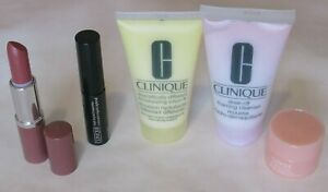 Clinique Lipstick, Moisturizer, Makeup Remover, Mascara, All About Eyes, New