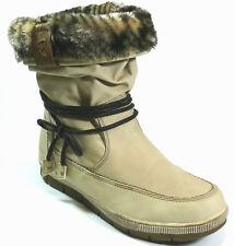 Hush Puppies Stiefel 42 KunstLEDER Boots Offwhite Stiefelette Relife Shock NEU