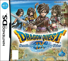 Dragon Quest IX 9 Sentinels of The Starry Skies for Nintendo DS Game Complete