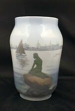 Royal Copenhagen Vase Langelinie Mermaid Model No. 4576