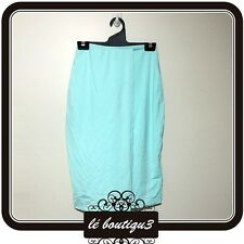 KOOKAI Wrap Front Midi Skirt Seaspray RRP $100.00 Size 1 (B 15)