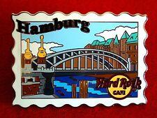 HRC Hard Rock Cafe Hamburg Postcard Pin Series 2011 LE300