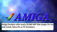 Amiga Emulator with ADF Disk Game Images 20,000 For Gotek Drive RetroPie with PC