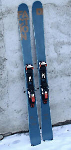 Faction Candide 2.0 166cm With Marker Tour F10 Bindings And Black Diamond Skins