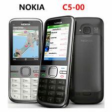 Original Nokia C5-00 Unlocked Camera English Hebrew Keyboard cellphone
