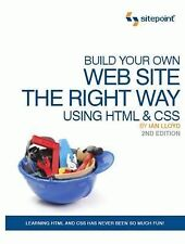 Build Your Own Website The Right Way Using HTML & CSS, Ian Lloyd   Paperback Boo
