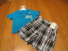 Baby Kenneth cole shorts polo shirt set 18 MO months boys NEW