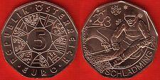 "Austria 5 euro 2012 ""Schladming 2013"" UNC"