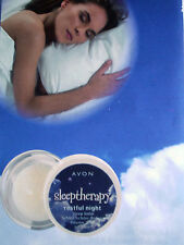 "Baume ""Nuit paisible"" AVON SLEEPTHERAPY LAVANDE RELAXANT"