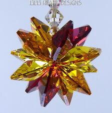m/w Swarovski Crystal Solar Flare Hot Sun Colors Sun Catcher Lilli Heart Designs