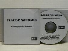 CLAUDE NOUGARO CD sampler album Embarquement immédiat  12 titres