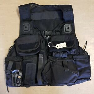 Ex Police Issue MK2 ARV Armed Response Tactical Vest Webbing With Pouches #4
