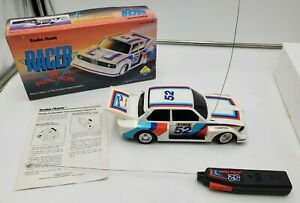 RARE Early Vintage RADIOSHACK BMW 323 RC Remote Radio Control Race Car #52 Read!