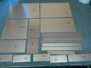 pcb fr-4 double sided copper circuit boards x 19