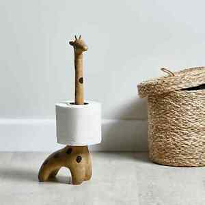 Giraffe Toilet Roll Holder Storage Bathroom Stand