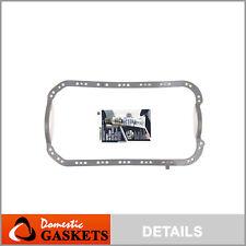 Oil Pan Gasket Fits 96-05 Honda Civic DX LX Del Sol 1.6L 1.7L SOHC D16Y7 D17A1