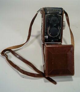 Vintage Rolleiflex T Model K8 T2 TLR Twin Lens Reflex Camera 1961-66 w/Case
