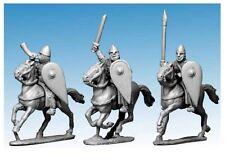 Crusader Miniatures DAN105 - Norman Cavalry Command in Chainmail - SAGA