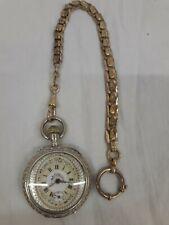 Antike Steirische Taschenuhr Trachtenuhr um1900