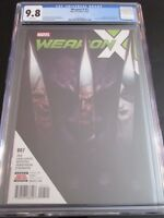 Weapon X #7 Skan Srisuwan CGC 9.8  Weapon H  1st printing  Sold Out Hard to Find