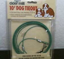 Aspen Pet Dog Tie out - 10 for Dogs up to 25 Pounds