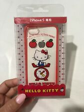 iPhone 5 Sanrio Original Hello Kitty Apples Phone Case Cover