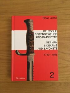 German Bayonets book 1740-1945 - Klaus Lubbe