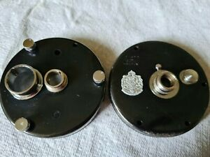 ABU 7000C VTG BRASS SIDEPLATES IN A GOOD USED CONDITION SEE PICS ETC